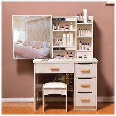 Dresser bedroom dressing table simple modern small mini vanity - Come . - Dresser bedroom dressing table simple modern small mini vanity – Dresser bedroom dressing table s - Bedroom Furniture Sets, Bedroom Sets, Home Decor Bedroom, Rustic Furniture, Home Furniture, Cheap Furniture, Wicker Bedroom, Luxury Furniture, Diy Bedroom