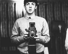 """""""Well, uh most people don't actually know that I invented the selfie..."""" Paul McCartney"""