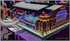 A Lego Model of Lucas Oil Stadium | Flickr - Photo Sharing!