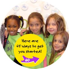 This weekend is Global Youth Service Day. GenerationOn has great ideas for how you can get involved in your community.