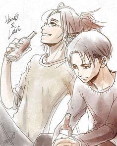 Hanji & Levi