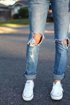 jeans + converse