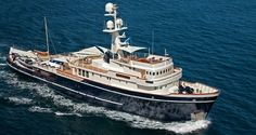 yacht Seawolf  - owned by Cognos co-founder  Michael Potter