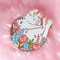 Pins, art & Patches ( Little Pink Creations ) by NorthernSpells Little Presents, Jacket Pins, Hard Enamel Pin, Cool Pins, It Goes On, Pin And Patches, Pin Badges, Mode Style, Lapel Pins