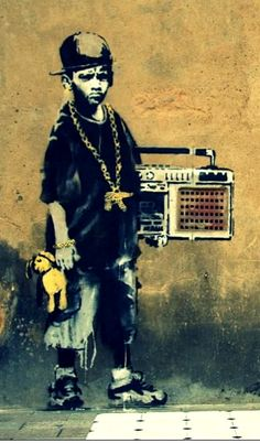 STREET ART  by BANSKY...TOF