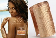 Halle Berry Auctions Cuff Bracelet for Jenesse Center