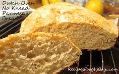 Dutch Oven No Knead Parmesan Bread (Photos) - Orlando Food   Examiner.com
