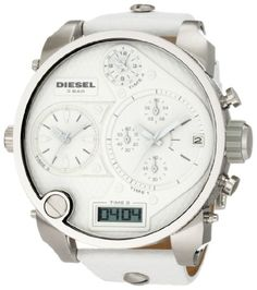 Diesel Men's DZ7194 SBA White Watch at http://suliaszone.com/diesel-mens-dz7194-sba-white-watch/