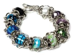 Allie Bracelet | Free Jewelry Patterns | Prima Bead #jewelry #primabead