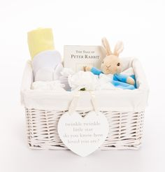 b60b62cfa936 Unisex Baby Gifts - Neutral Baby Hampers - Peter Rabbit Baby Gifts. Our  Peter Rabbit