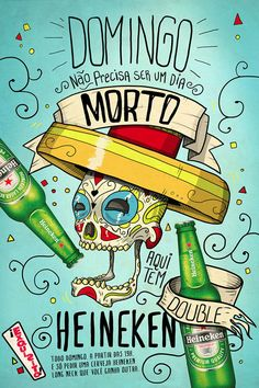 Domingo Exquisito! by Caxahell, via Behance