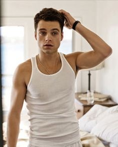 Let's mix things up and add an American, shall we?   Current new crush: Sebastian Stan   Crushing on: due to his amazing role in Captain America 2: The Winter Soldier (and, ya know, the shirtless scene helps a little ;) )