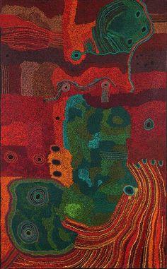 Tjungkara Ken - 'Ngayuku ngura (My Country)' - Tjala Arts Art Centre - Outstation Gallery - Aboriginal Art from Art Centres Native Art, Art Painting, Dot Painting, Australian Art, Indigenous Australian Art, Culture Art, Painting, Art, Contemporary Art