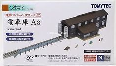 TOMYTEC-1-150-N-Scale-Diorama-collection-Train-Shed-BUI-021-3