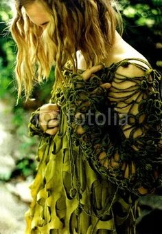 Seaweed dress Datuna Kania