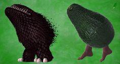 The terrifying legged avocado << XD Twilight Princess Hd, Evil Demons, Video Games Funny, Skyward Sword, Final Fantasy Vii, Avatar The Last Airbender, Legend Of Zelda, Amazing Art, The Help