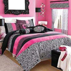 Roze slaapkamer
