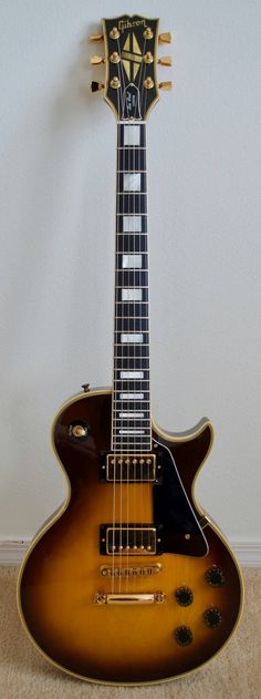 1980 Gibson Les Paul Custom - Tobacco Sunburst