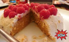 Sweet Potato & Coconut Protein Cake: