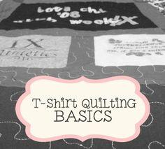 T-Shirt Quilting BASICS