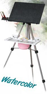 Eric Michaels En Plein Air Pro Water Color Easel. Used by Charles Reid, Keiko Tanabe, Tom Lynch, Eric Wiegardt and a host of other great professionals.