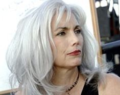 Silver Hair Highlights On Pinterest  Silver Highlights Gray Hair And Gray H