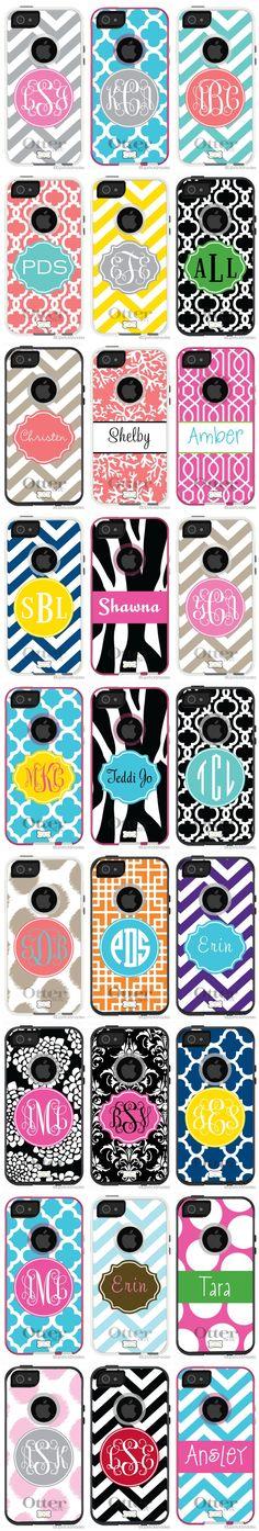 monogram iPhone 5 otterbox...LOVE!!