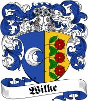 Wilke Coat of Arms www.4crests.com #coatofarms #familycrest #familycrests…