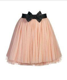 Ballerina Skirt... love this bow