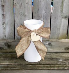 Wedding Candle Holder / Wedding Table by CarolesWeddingWhimsy, $99.99, set of 10, Country Burlap with Heart Tag Pillar Candle Holder.....Great for a centerpiece.....DIY Wedding Table Number on the Tag.....Check it out here, https://www.etsy.com/listing/198287359/wedding-candle-holder-wedding-table