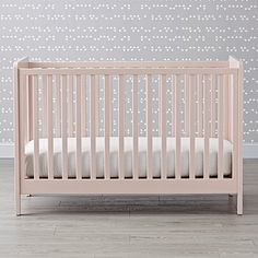 Our Carousel Crib (White) features solid wood construction and modern design, and its adjustable crib mattress height fit perfectly with your nursery. Grey Nursery Boy, Grey Crib, White Nursery, Nursery Neutral, Pink Crib, Nursery Furniture, Custom Furniture, Kids Furniture, Cabin Furniture