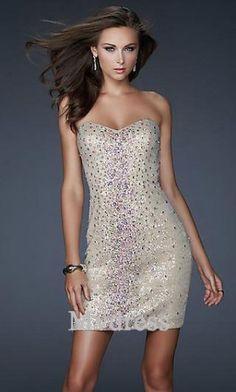 Homecoming Dresses#Strapless Dress #Short  Dress