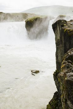 Free stock photo of person, stream, cliff, river