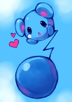 I don't remember the name of this pokemon, but I think it's so cute ^///^
