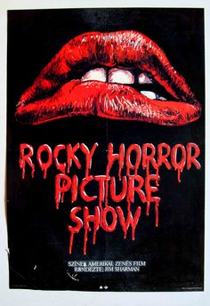 Rocky Horror Picture Show (1975)  Hungarian vintage movie poster Artist by: Khell Csörsz