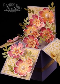 Saturday, May 17, 2014 A Crafty Cat: Card in a Box with Stampin' Up!