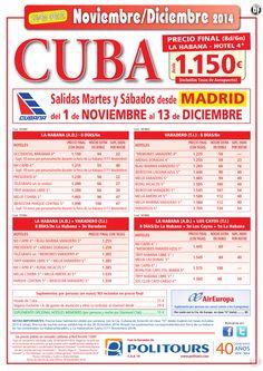 VARADERO, salidas del 1/11 al 13/12 desde Madrid (8d/6n) precio final desde 1.225€ ultimo minuto - http://zocotours.com/varadero-salidas-del-111-al-1312-desde-madrid-8d6n-precio-final-desde-1-225e-ultimo-minuto-2/