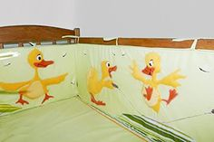 Handmade Nursery Handmade Crib Bumpers Bedsheet Toy Animal Linen Fleece Baby…