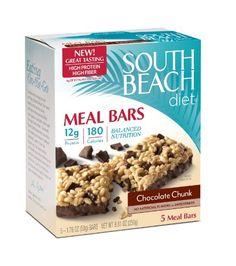South Beach Diet Meal Bar, Chocolate... $5.59