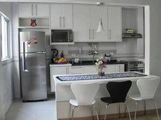 Resultado de imagem para sala estar jantar e cozinha integradas 19m