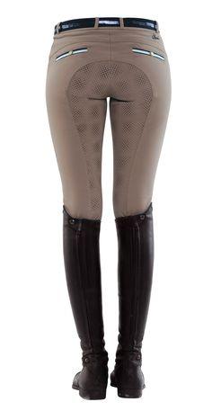 Spooks Ladies Ricarda Grip Full Seat Breeches - Breeches StyleMyRide.net @SMRequestrian #stylemyride #fashion