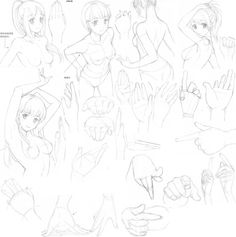 Expressions and movements 10 by FVSJ on DeviantArt