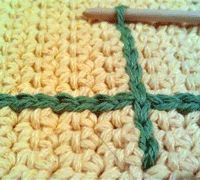 free crochet chain stitch embroidery tutorial