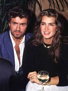 George Michael & Brooke Shields