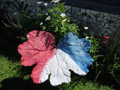 How to Cast a Cement Garden Leaf