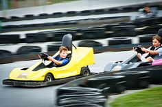Nascar Speedpark in Smoky Mountains (Sevierville, TN) by LeGrandLife, via Flickr; unlimited rides including speedway, bumper boats, mini golf, rock climbing wall ($18.99).