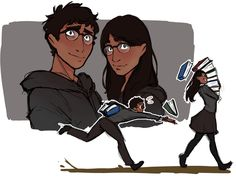 Twin AU, but they're both still called Rowan and it's confusing for everyone Arte Do Harry Potter, Harry Potter Hogwarts, Percy Jackson, Body Reference Drawing, Weasley Twins, Hogwarts Mystery, Magical Creatures, Ravenclaw, Fantastic Beasts