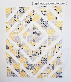 Quilts Inspiring Creations: 4-Patch Slice-Free Quilt Block Tutorial :@