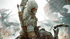 Ubisoft has released the first game play trailer of Assassin Creed 3. In the video you finally! You'll get to see Conor in action fighting with the bear, the red coat dudes, some epic battle sequences and snowy and forested areas and new finishing moves. The game is slated for release on 31Ooctober for PC Xbox 360 and PS3. Feat your eyes on the epic first game play footage of Assassin Creed 3