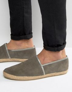 KG By Kurt Geiger Loafers In Gray Suede - Gray